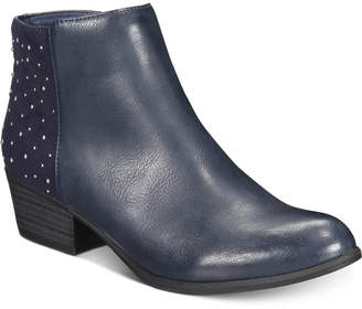 Esprit Tiara Memory-Foam Studded Booties Women's Shoes