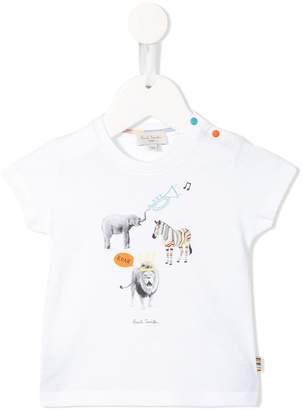 Paul Smith printed animals T-shirt