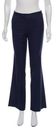 Calypso Mid-Rise Wide Leg Pants