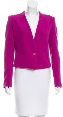Rachel Roy Collarless Long Sleeve Blazer w/ Tags $80 thestylecure.com