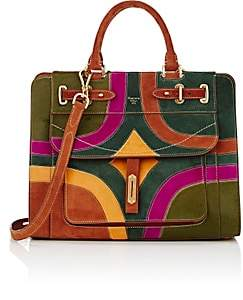 "Bos. & Co. Fontana Milano 1915 Women's ""A Bag"" Small Satchel - Verde Bosco, Rugg, Oliva"