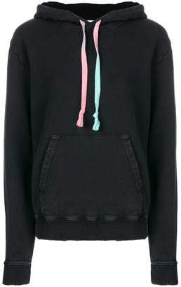 Saint Laurent drawstring long-sleeve hoodie