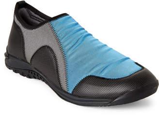 N.Hoolywood Paneled Neoprene Slip-On Shoes
