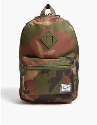 Herschel Heritage camouflage print backpack