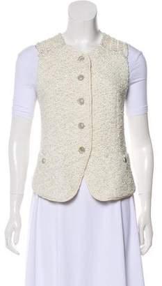 Theyskens' Theory Button-Up Knit Vest