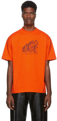 St Henri St-Henri Orange Lorem T-Shirt