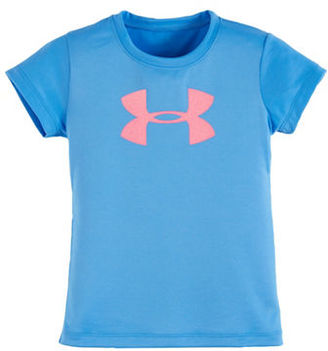 Under Armour Girls 2-6x Crewneck Tee $17.99 thestylecure.com