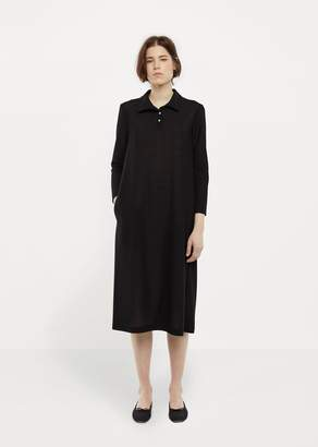 La Garçonne Moderne Polo Dress Black