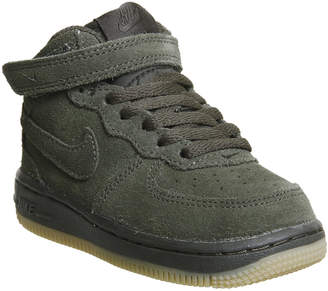 36e7138d615 at Office · Nike Af1 Mid Infant Trainers Sequoia Gum
