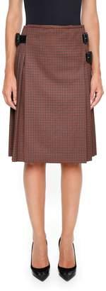 Prada Kid Mohair Skirt