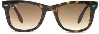 Ray-Ban Folding Wayfarer Sunglasses, 50mm $165 thestylecure.com