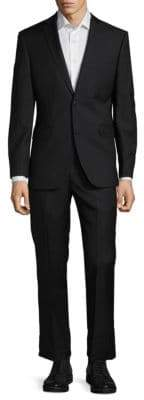 Saks Fifth Avenue Extra Slim Fit Wool Suit