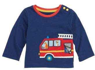 Boden Mini Transport Applique T-Shirt