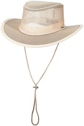 Stetson Mesh Safari Hat - Men
