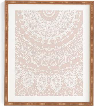 Deny Designs Moroccan Rose Framed Wall Art