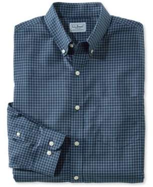 L.L. Bean L.L.Bean Wrinkle-Free Check Shirt, Traditional Fit