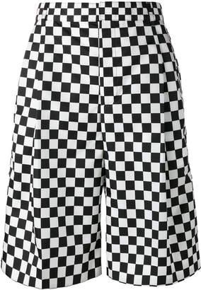 Givenchy checkered print shorts