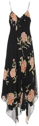 Polo Ralph Lauren Floral-printed silk dress