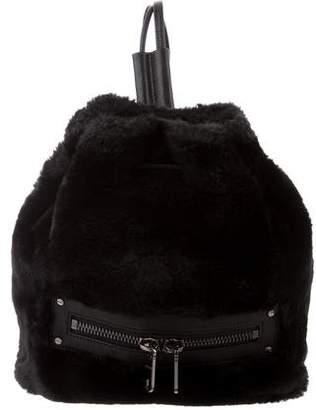 Milly Leather Trim Skylar Backpack
