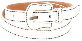 Fendi Patent Leather Buckle Belt