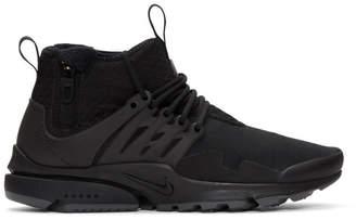 Nike Black Air Presto Utility Sneakers