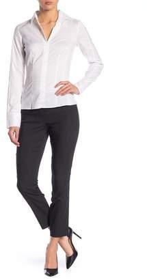 Leighton Tonal Stripe Skinny Pull-On Pants