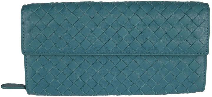 Bottega VenetaBottega Veneta Braided Continental Wallet