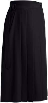 Joseph Fleet asymmetric crepe skirt