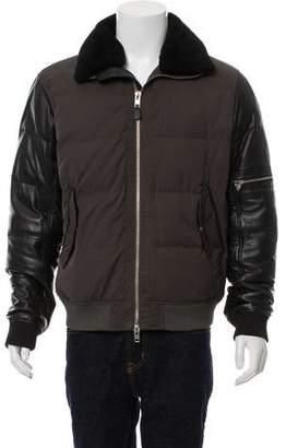 J. Lindeberg Woven Puffer Coat