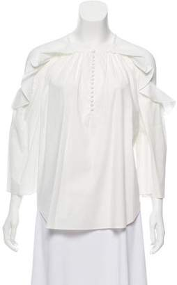Rachel Zoe Lenora Cold-Shoulder Top w/ Tags
