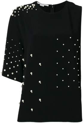 Stella McCartney pearl-embellished top