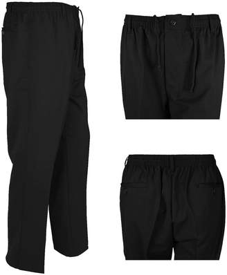 3.1 Phillip Lim RIDDLED WITH STYLE Office Trouser Business Rugby Trouser Mens Elasticated Waist Band Pant Plus Size#( Office Business Trouser#Waist 42 /27 Length#Mens)