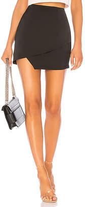 by the way. Saira Satin Mini Skirt