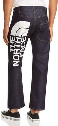 Junya Watanabe x The North Face Straight Fit Jeans in Dark Blue