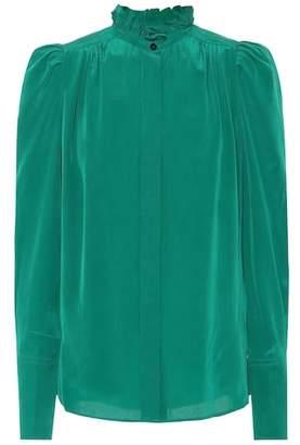 Isabel Marant Lamia silk shirt