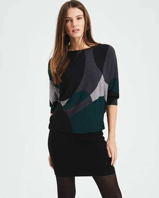 Phase Eight Abstract Shape Print Becca Dress