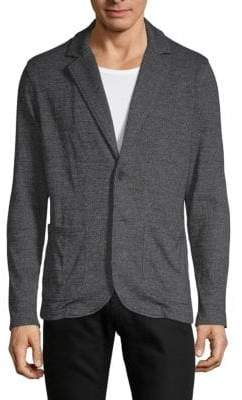 Saks Fifth Avenue Knitted Heathered Blazer