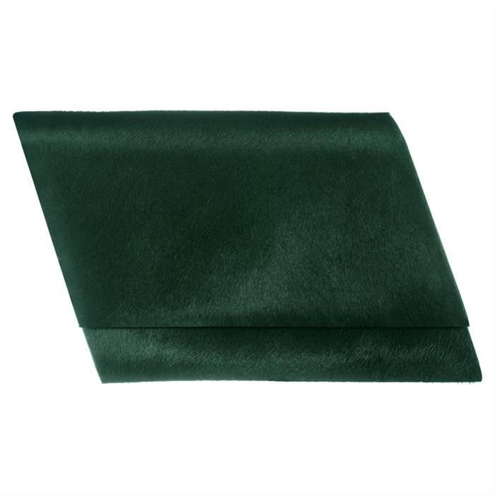 Emerald Pony Skin Clutch by Sang A