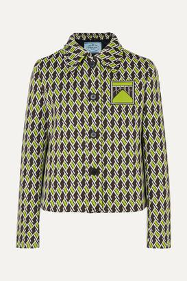 Prada Jacquard-knit Blazer