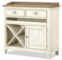 Panama Jack Home Millbrook Console Floor Wine Cabinet Home