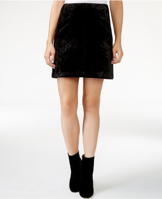 RACHEL Rachel Roy Velvet A-Line Skirt, Only at Macy's $89 thestylecure.com