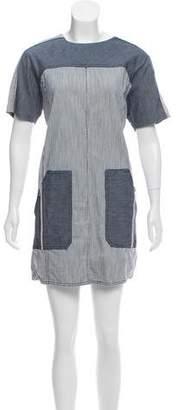 Rebecca Taylor Denim Mini Dress