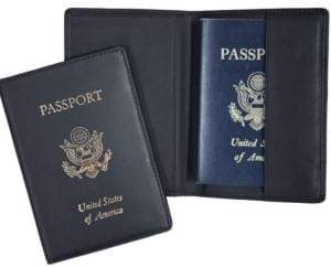 ROYCE New York Handcrafted RFID Blocking Passport Document Organizer