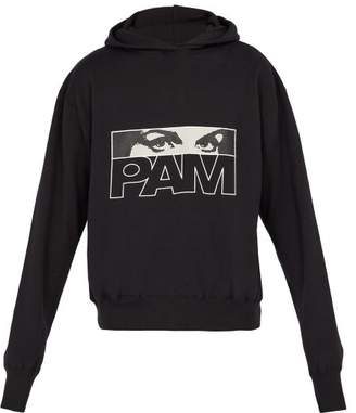 PAM Maiden Logo Hooded Sweatshirt - Mens - Black