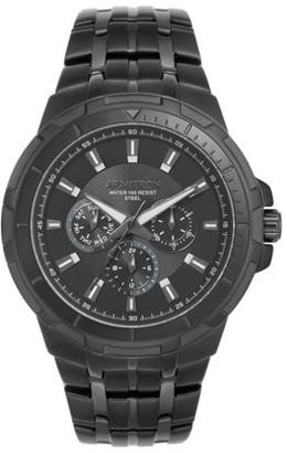 Armitron Men's Round Dress Watch, Black Bracelet