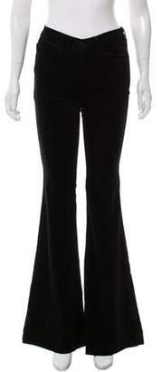 J Brand Mid-Rise Velvet Jeans