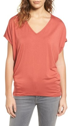 Women's Amour Vert 'Mayr' V-Neck Tee $78 thestylecure.com