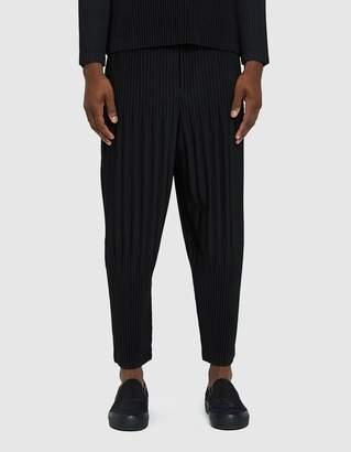 Issey Miyake Homme Plisse Basic Pleated Pants in Black