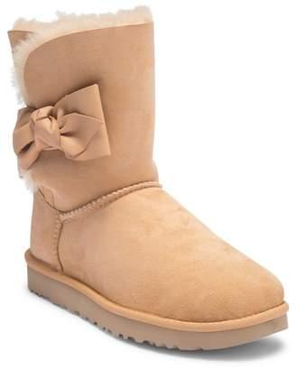 UGG Daelynn Suede Genuine Shearling Boot