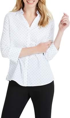 Foxcroft Mary Star Dot Shirt
